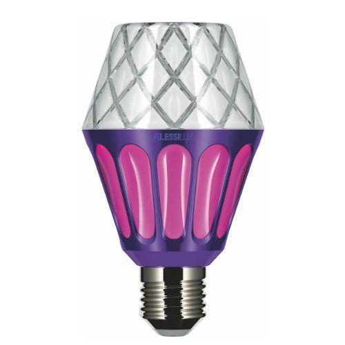 Unique Alessi Lux LED Leuchtmittel Vienna lila