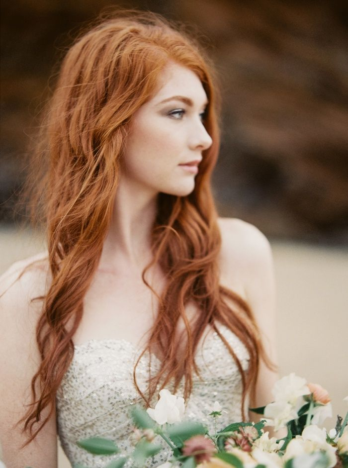 Wedding Makeup Ideas For Redheads : 1000+ ideas about Redhead Bride on Pinterest Flowers In ...