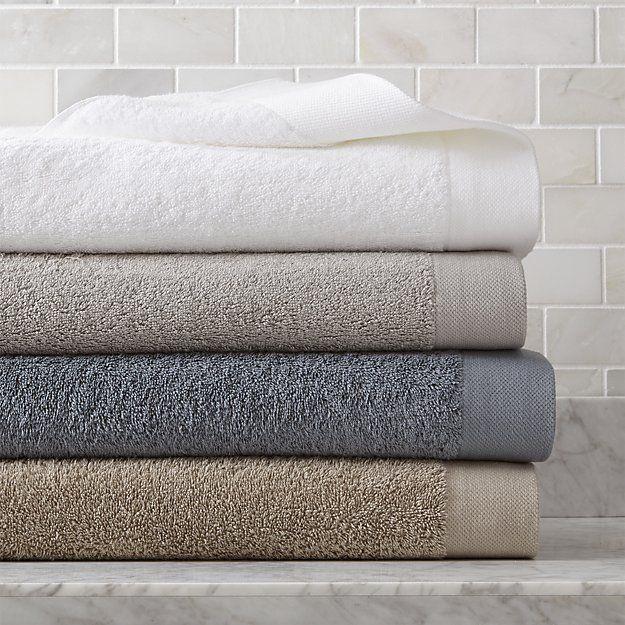 Egyptian Cotton Bath Towels Crate And Barrel Blue Hand Towels