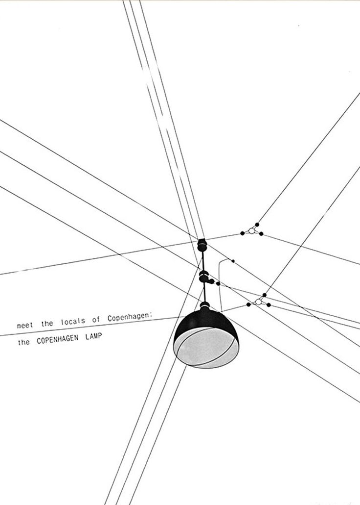 MTLOC: Copenhagen Lamp | Just Spotted