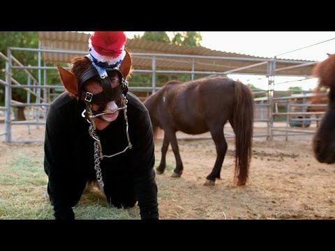 Omg it's the pony lady you have to watch this you'll die!!! Addicted to Pony Play   My Strange Addiction