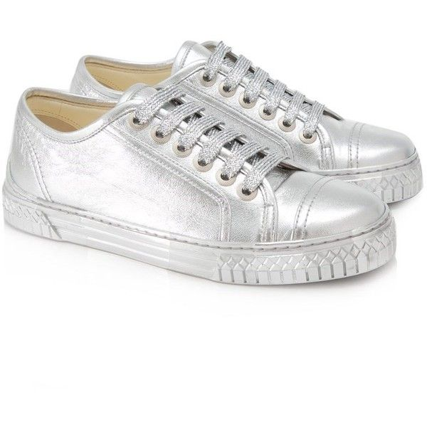 Pre-owned Chanel Lace Up Sneakers (1
