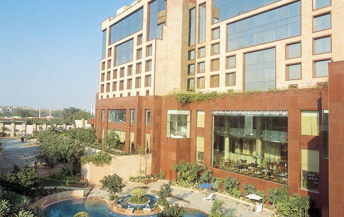 Exterior of Sheraton, New Delhi