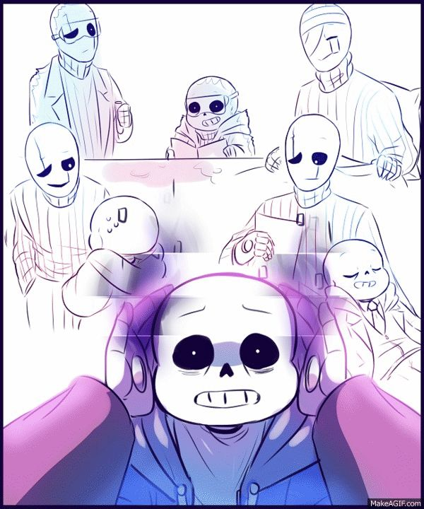 And Sad Sans Papyrus Underswap