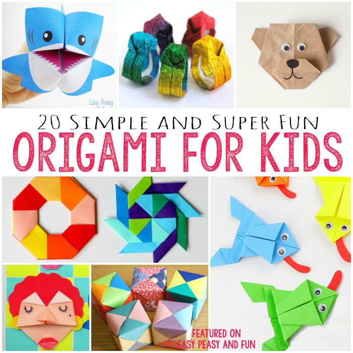 Easy Origami for Kids                                                                                                                                                                                 More