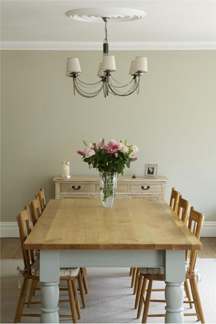 28 Simple Dining Room Ideas For A Stunning Inspiration: Walls Painted F&B Clunch