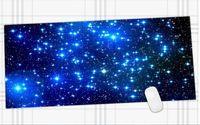 890x400 мм Galaxy Печать Длительных Игровых Широкий Большой Резиновый Коврик Для Мыши Большой Размер Стол Коврик противоскольжения