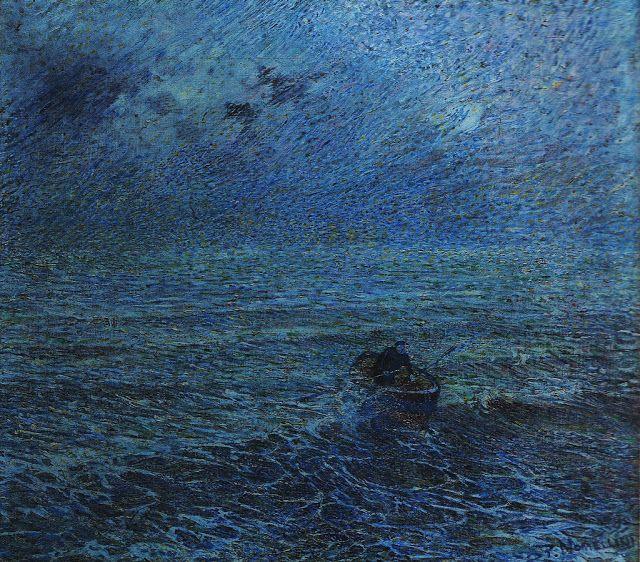 Nomellini, Plinio, (1866-1943), Sea of Genoa, 1891