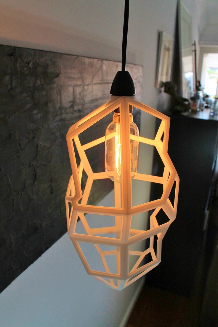 3D Printed light, sustainable sourced from QLD, Australia by Mutating Creatures Studio #shoplocal #fetchlane