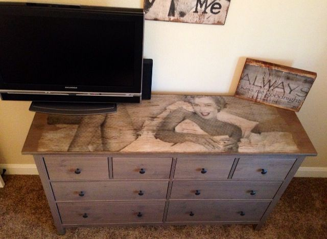 Marilyn Monroe Dresser We Can Wrap Your Furniture In Any Print Rearviewhomedecor