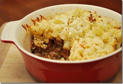Cheesy Cauliflower Topped Pie   Slimming Eats - Slimming World Recipes