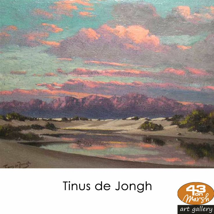 "Artist Tribute! Martinus Johannes ""Tinus"" de Jongh (31 January 1885, Amsterdam - 17 July 1942, Bloemfontein) was one of South Africa's most popular painters. He died on 17 July 1942 from lung cancer. #artist #painter #popular"