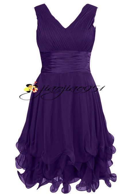 New Stock Tulle Formal Short Bridesmaid Dress Ball Prom Party Cocktail Gown 6-20