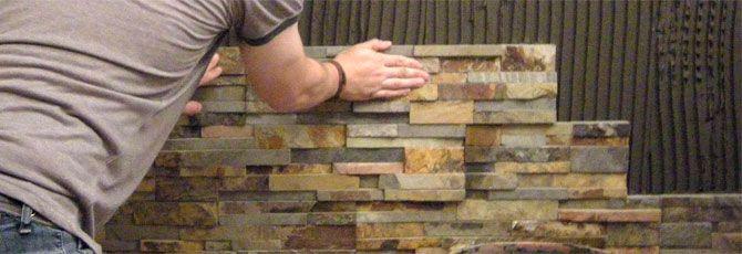 Installing Stone Veneers : Best oak tree retaining wall images on pinterest