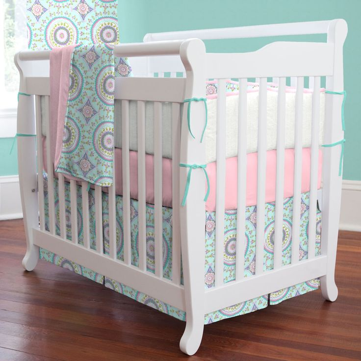 best 25 mini crib bedding ideas on pinterest fitted crib sheets nursery bedding and baby bedding. Black Bedroom Furniture Sets. Home Design Ideas