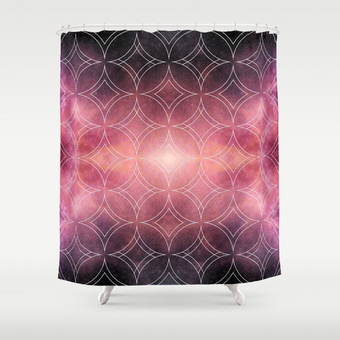 Project 48 Shower Curtain By R Sp C Curtains Bathroom Curtains