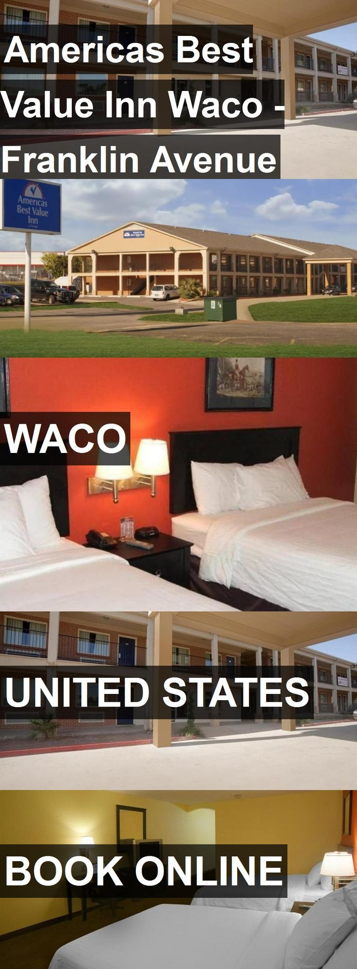 Hotel Americas Best Value Inn Waco - Franklin Avenue in Waco, United States. For more information, photos, reviews and best prices please follow the link. #UnitedStates #Waco #travel #vacation #hotel