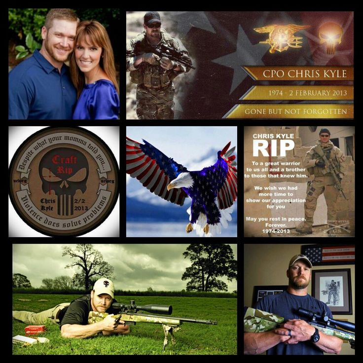 chris kyle us navy seal The widow of fallen navy seal chris kyle says the national football league's participation in national anthem protests has shattered unity it once enjoyed with millions of fans.