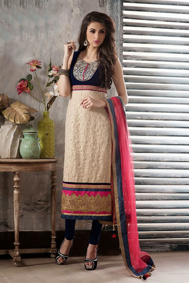 Latest Fashion Trends 2015: Simply Beautiful Incredible Collection of Palazzo and Churidar Suits