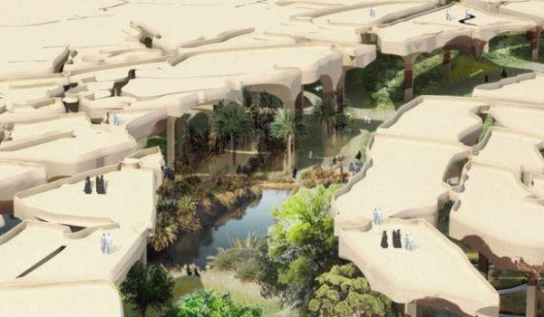 Birleşik Arap Emirlikleri, Dubai'deki Burj Khalifa veya Palmiye Adaları gibi abartılı ve pahalı mimari yapıları ile tanınıyor. Ancak bu defa Abu Dabi çok farklı bir mimari yapıya ev sahipliği yapacak. Tasarımını Thomas Heatherwick'in yaptığı ve 12 hektarlık bir alana yayılacak olan çöl bahçesi BAE'de görmeye alışık olmadığımız bir mimari yapı olacak. Çöle savaş açmadan kente yeşili getiren bu bahçe, bir çardağı andıran tasarımı ile çölün altına yapılacak ve böylece yakıcı güneşten…