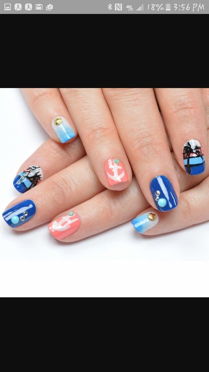 24 besten Nails Bilder auf Pinterest   Nagelkunst, Frisuren und ...