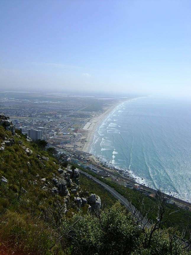 Beauty of Cape Town surrounds from Boyes Drive