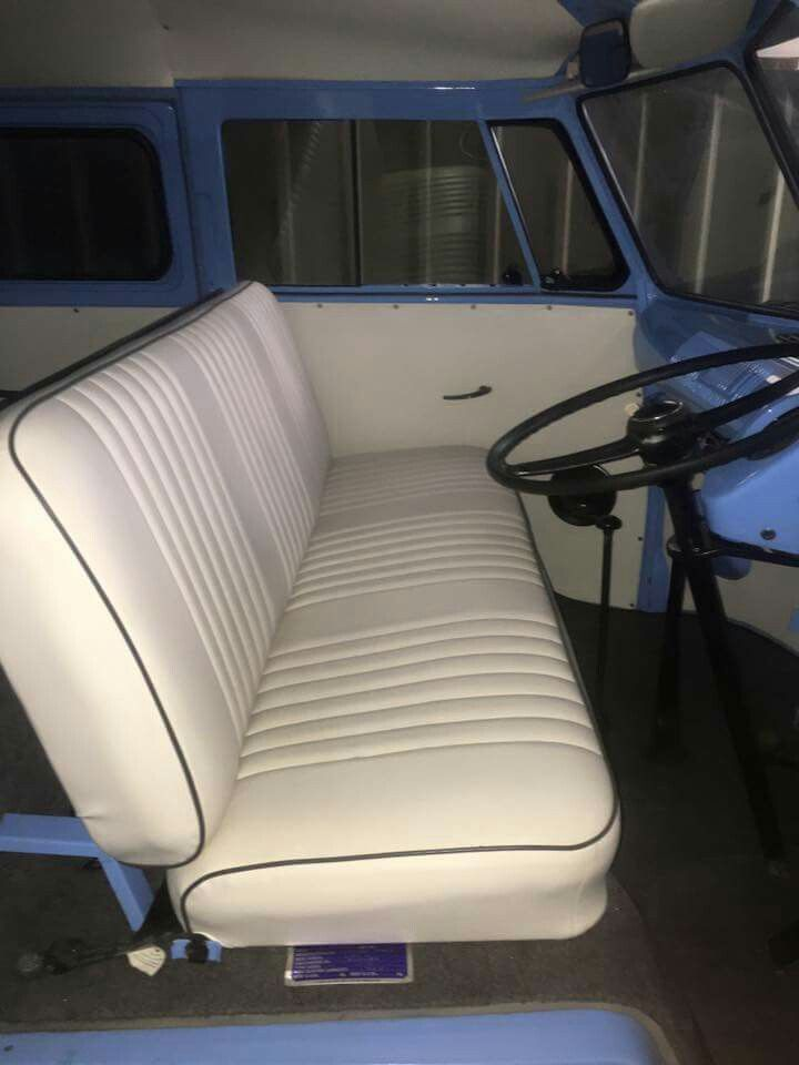 Bench Seat In Vw Splitscreen Favorite Places Amp Spaces