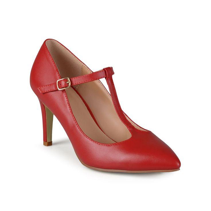 Journee Collection Dream Women's High Heels, Teens, Size: medium (7.5), Red