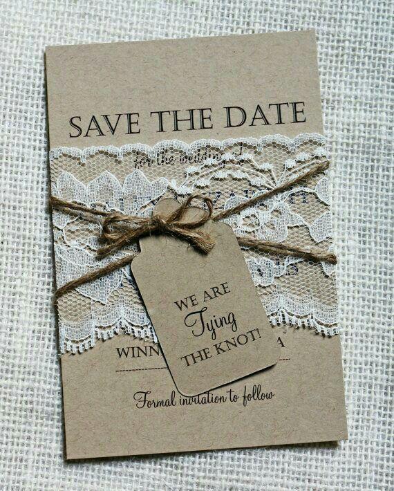 Wedding Invitations Ideas Pinterest: Save The Date, Wedding, Baptism, Invitation, Rustic