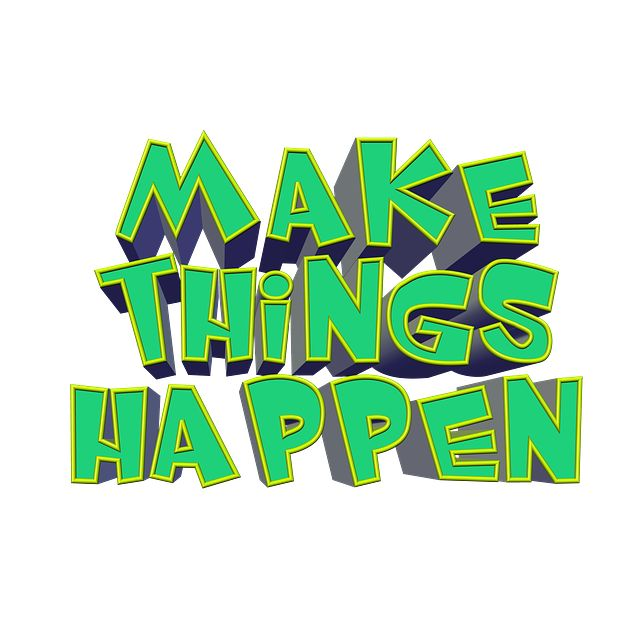 Be Productive at Work-Make Things Happen