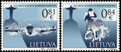RIO Olympic Games 2016 stamps - Lithuania
