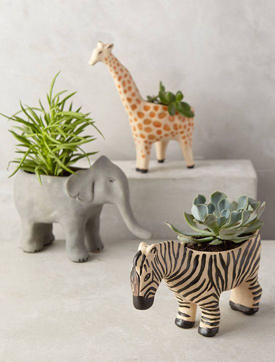 small planters | designlovefest