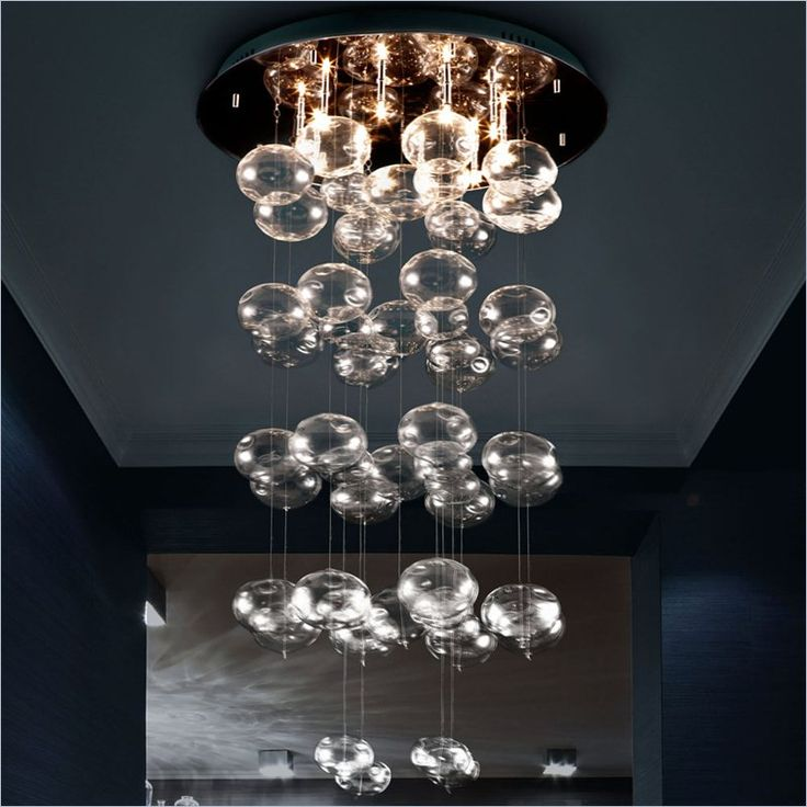 Zuo Vector Ceiling Lamp in Clear - 50116