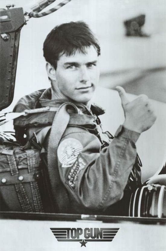 Tom Cruise. Top Gun and Days of Thunder were the movies I grew up on. Absolute…