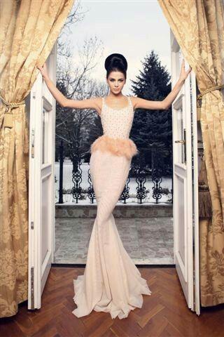 photo Lukas Kimlicka / gown dress by Jana Gavalcova fashion designer / Miss Slovensko 2013