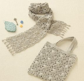 ストール、バッグ | 手作りレシピ | クロバー株式会社. Clover crochet free pattern