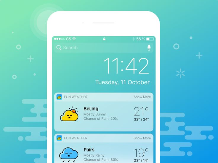 fun weather ui kit by Norman✈