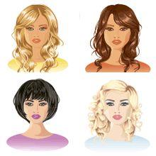 Трапециевидное лицо | Стрижки, прически, макияж и форма очков