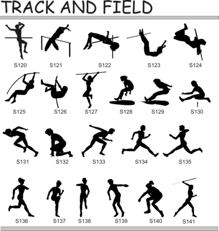 I have a strong interest in track and field events.