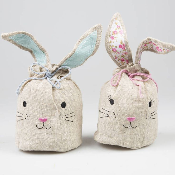 220 best easter images on pinterest baby bunnies bags and bunnies little easter bunny treat bag whimsical and charming easter treat bags for you to fill negle Choice Image