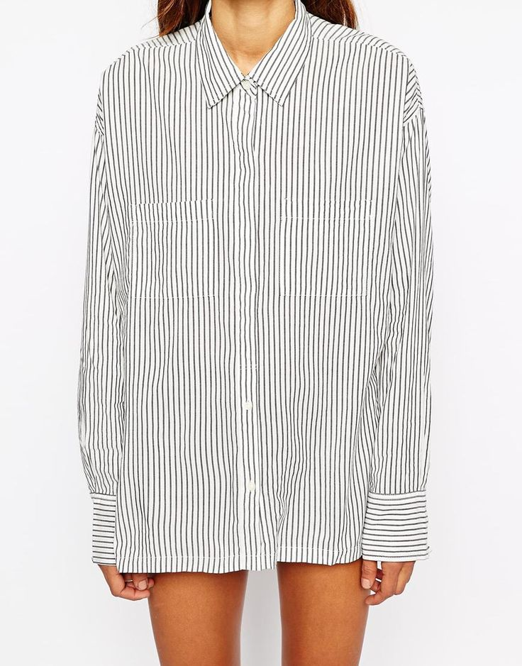 This shirt thought! You can even buy it oversize and wear it as a dress with some ankle boots. http://asos.do/0Un0GL