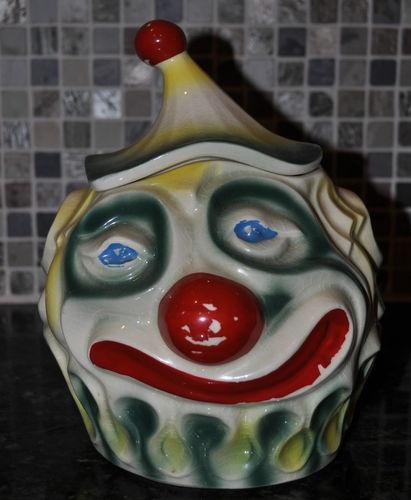 117 Best Cookie Jars Clowns Images On Pinterest
