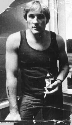 Gerard Depardieu, some time in the 70's!