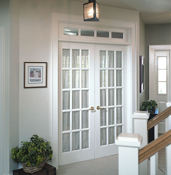 1000 images about french doors on pinterest offices - Installing french doors interior ...