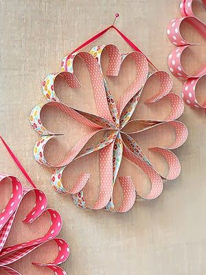 Be Different...Act Normal: Search results for paper heart garland