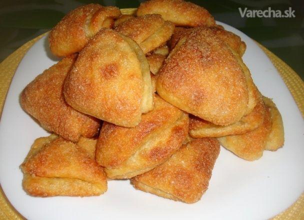 Chutné tvarohové koláčiky (fotorecept) - Recept