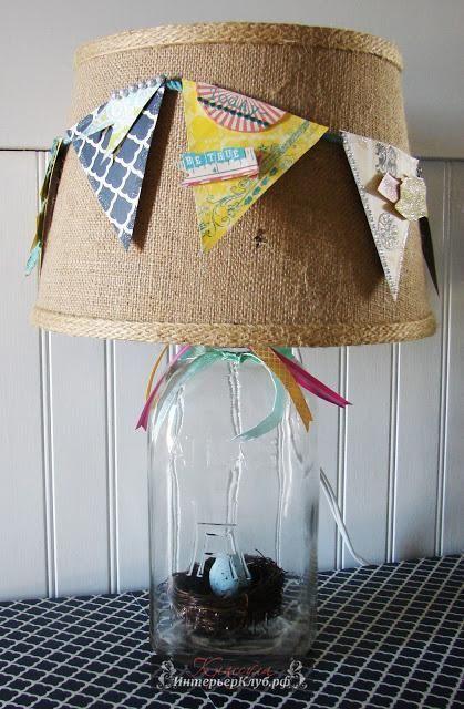 28 Новый абажур своими руками, идеи для абажура своими руками, украсить абажур настольной лампы торшера своими руками