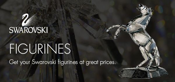Get your Swarovski figurines at great prices