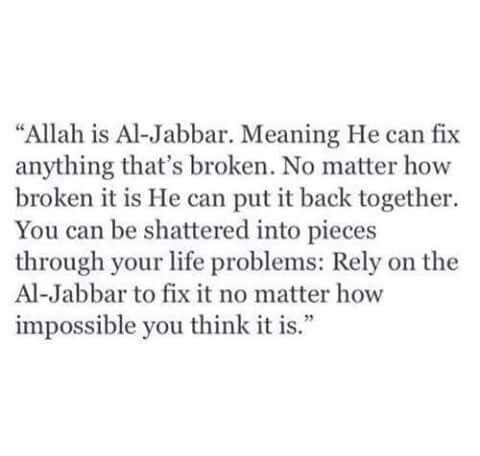 #Allah #Hardships #Problems #Al-Jabbar