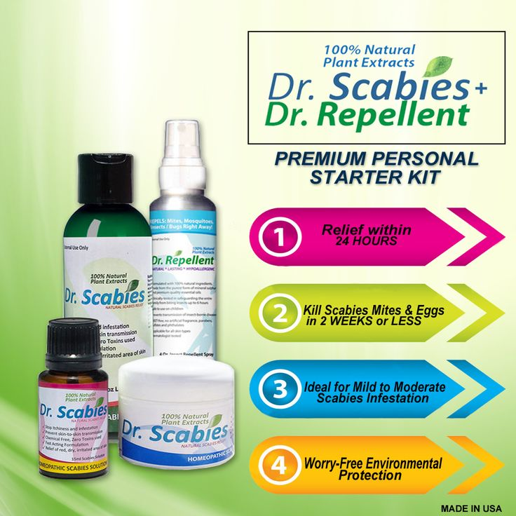 Dr. Scabies Premium Starter Kit at $100.62 Good for one ...